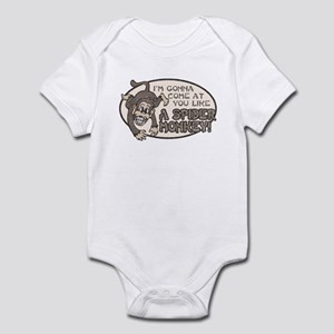 Spider Monkey [Talladega Nigh Infant Bodysuit